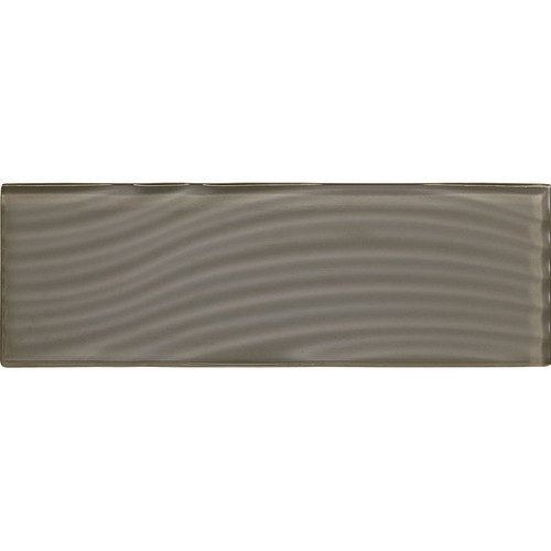 "American Olean Color Appeal Abstracts Mink 4"" x 12"" Glass Tile"
