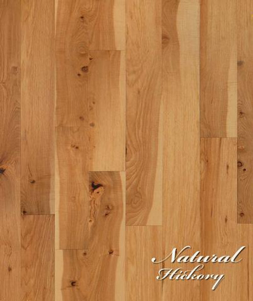 """From The Forest Vineyard Sonoma Natural Hickory 1/2"""" x 8"""" Hardwood"""