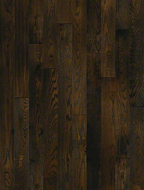 "Shaw Championship 5 Roan Brown 3/4"" x 5"" Red Oak Solid Hardwood"