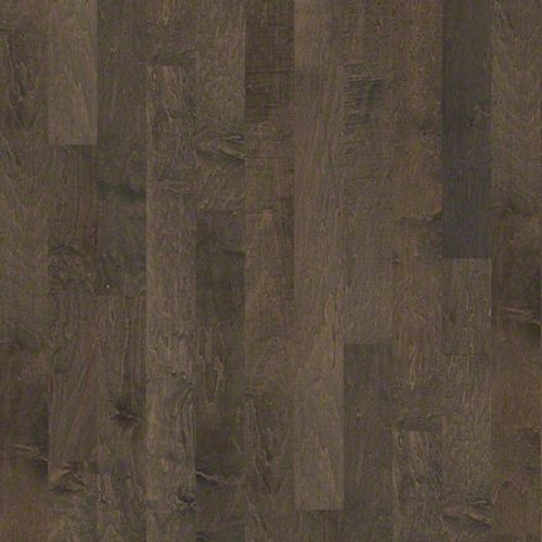 "Shaw Essex Maple Charcoal 3/8"" x 5"" Hickory Engineered Hardwood"