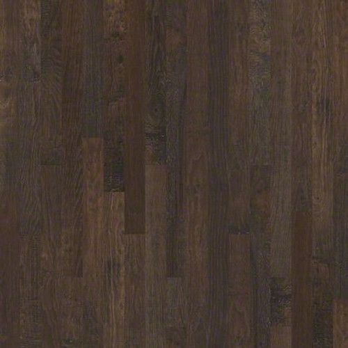 """Shaw Pioneer Road Quarry 3/4"""" x 3 1/4"""" Hickory Solid Hardwood"""