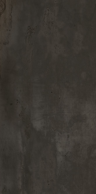 "Happy Floors Acero Black 12"" x 24"" Rectified Tile"