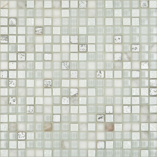 """Happy Floors Tangier Aire 0.6"""" x 0.6"""" Mosaic"""