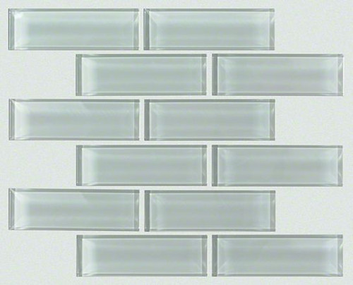 "Shaw Paramount Shadow 12"" x 12"" Subway Glass Mosaic"