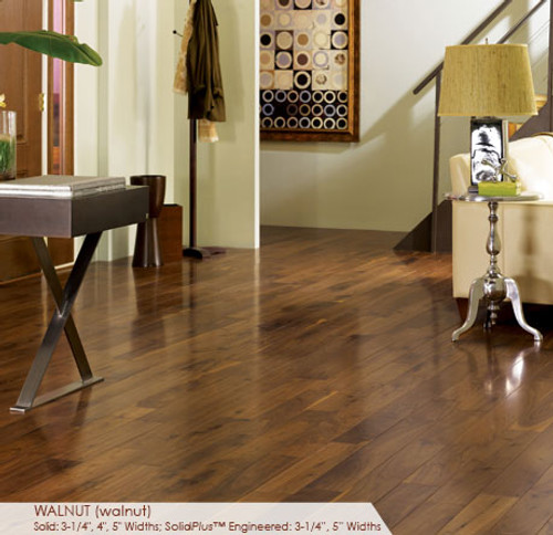 Somerset Character Collection Engineered Plank Walnut Natural 3 1/4""