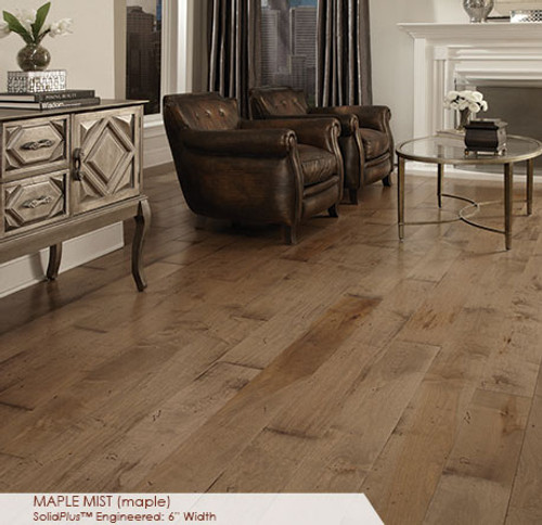 Somerset Wide Plank Collection Maple Mist 6""