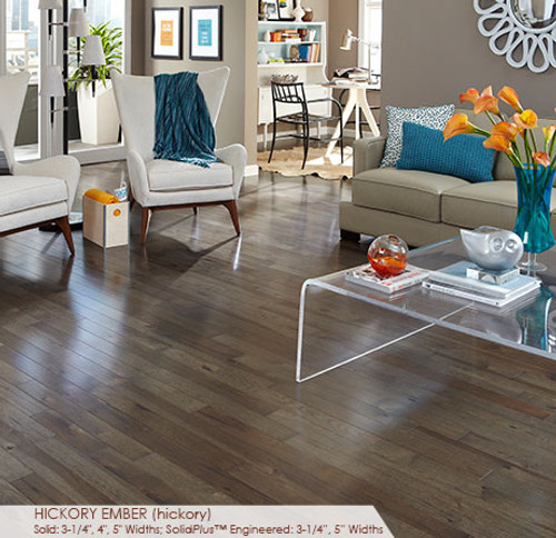 Somerset Character Collection Plank Hickory Ember 4""