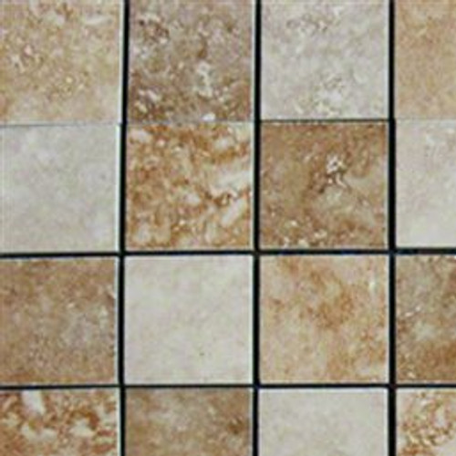 "MS International Venice Beige/Brown 2"" x 2"" Mosaic"