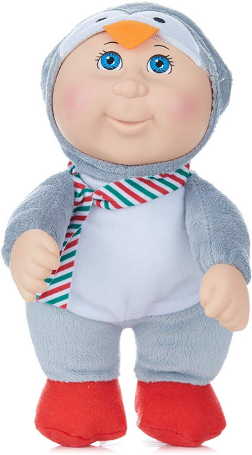 Cabbage Patch Kids Cuties Holiday Helper Collection 9 Inch Soft Body Baby Doll - Jasper Penguin