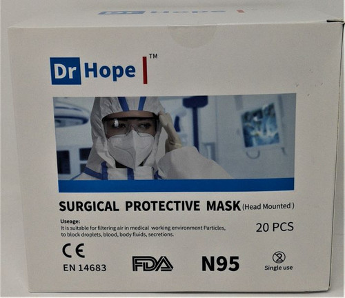 Dr Hope Surgical Protective Mask (Head Mounted)20 units/pack
