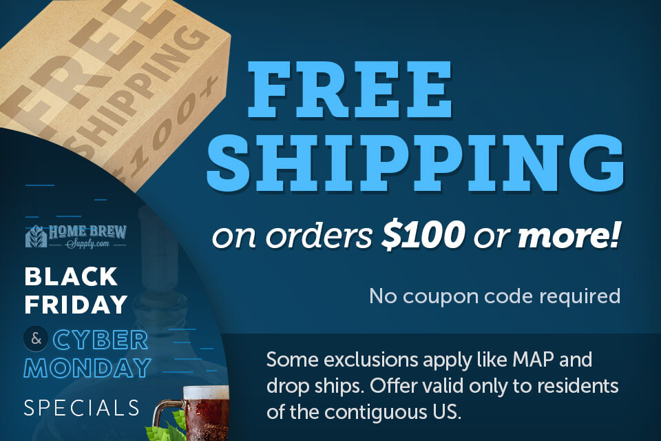 Free Shipping on Orders $100 or More!