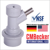 "CMB Ball Lock Disconnect Gas 1/4 "" Barbed End"