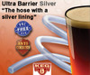 "Ultra Barrier Silver Beer Hose 3/16 ID x 7/16 OD, 1/8"" Wall"