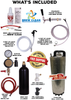 Deluxe Kegerator Kit - Home and Travel Draft Beer System