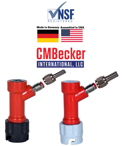 CMB Disconnects Pair, MFL with swivel nuts Pin Lock with 5/16 gas, 1/4 liquid