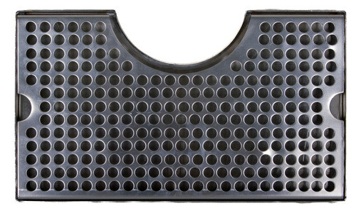 12x7 Cut Out Drip Tray, Stainless Steel