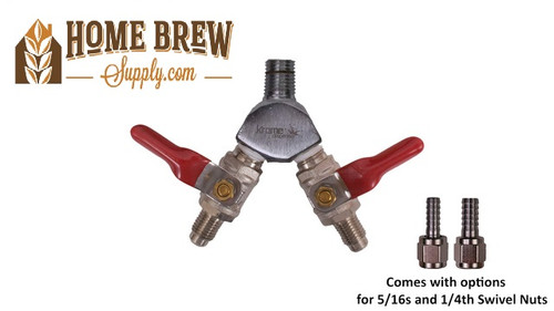 WYE with Two Check Valves