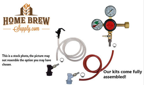 1 Faucet Basic Homebrew Kegerator Kit
