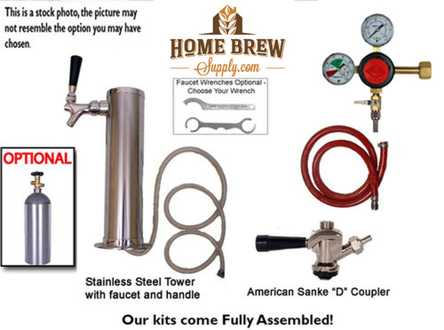 1 Faucet Tower Commercial Kit