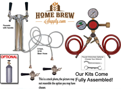 2 Faucet Tower Commercial Kit