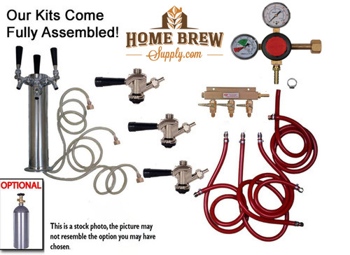 3 Faucet Tower Commercial Kit