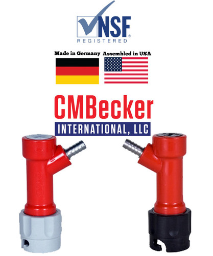 CMB Disconnect Set, Pin Lock, Barbed End