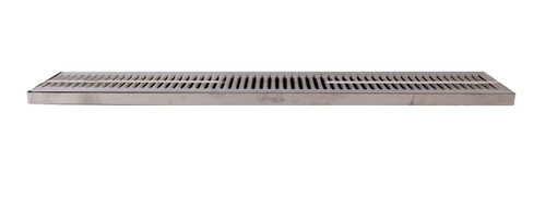 30 X 5 SS Drip Tray , Surface Mount with Drain