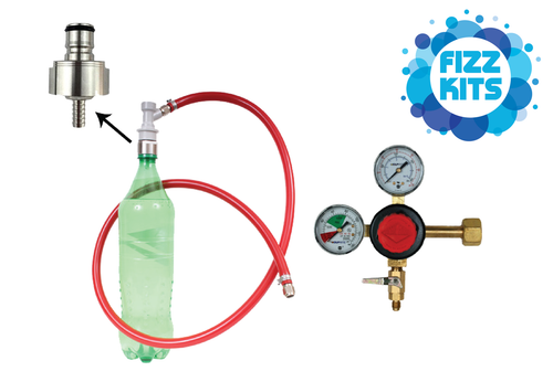 Soda Carbonating Kits with No CO2 Bottle