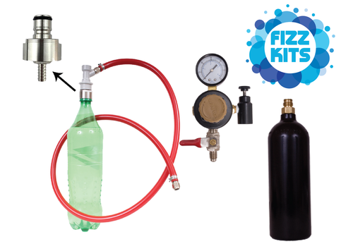 Soda Carbonating Kits With 20oz CO2 bottle