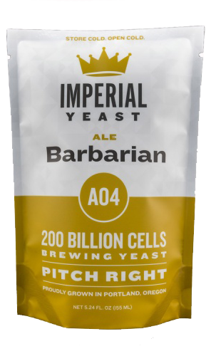 Imperial A04 Barbarian Organic Yeast   Vermont Ale