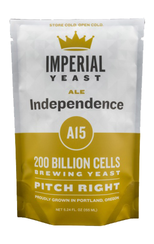 Imperial A15 Independence Organic Yeast   American Ale