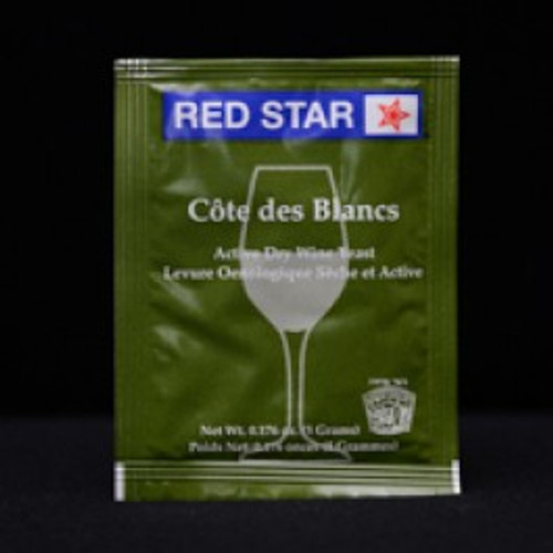 Red Star Cote de Blanc Wine Yeast
