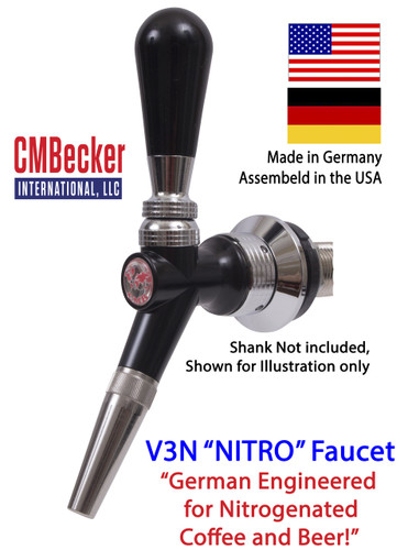 CMB V3N NITRO Beer and Nitro Coffee Faucet
