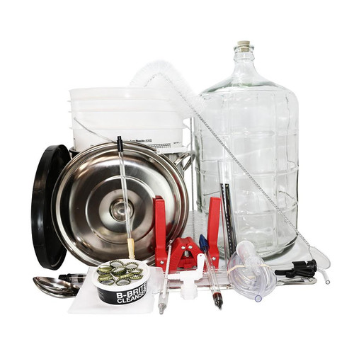 Complete Homebrew Kit - Glass Carboy