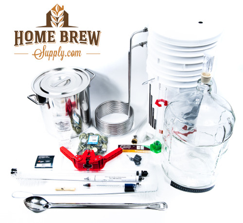 Advanced Home Brewing Equipment Kit