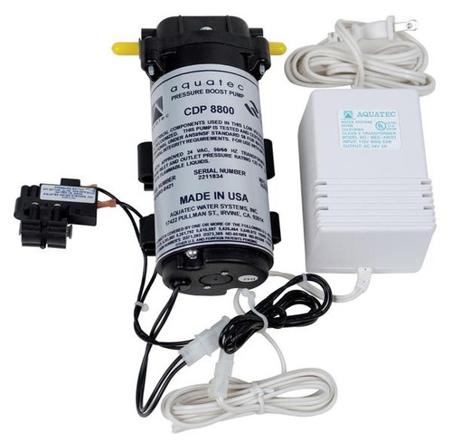 Pressure Booster Pump for Stealth-RO™ with Transformer & Pressure Switch, 110V