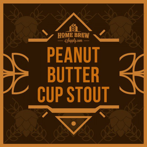 Peanut Butter Cup Chocolate Stout - Extract Recipe Kit