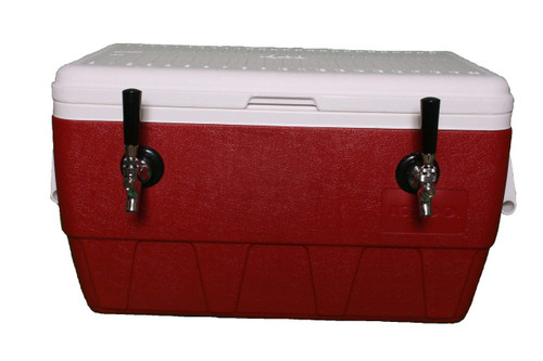 2 Faucet Cold Plate Jockey Box Homebrew