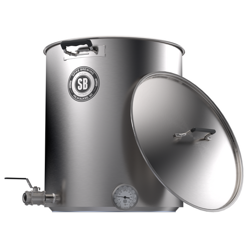 Spike Brewing V4 10 Gallon Kettle - Two Horizontal Couplers
