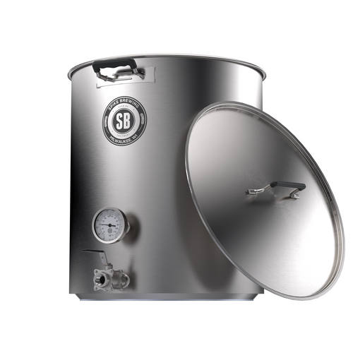 Spike Brewing V4 10 Gallon Kettle - Two Vertical Couplers