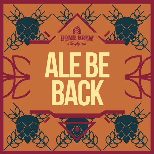 Ale Be Back - American Brown Ale All-Grain Recipe Kit