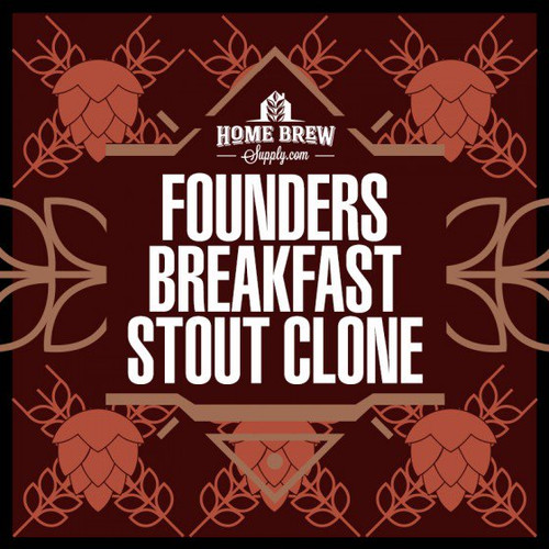 Founders Breakfast Stout Clone - All-Grain Recipe Kit