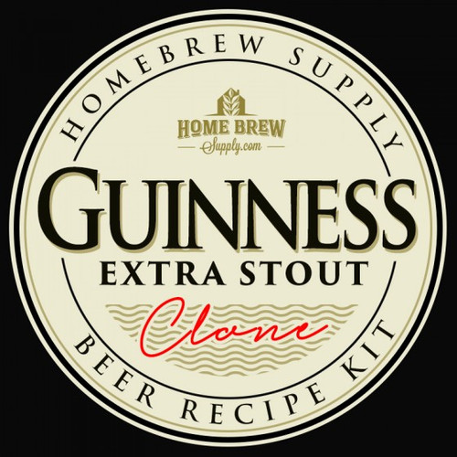 Guinness Extra Stout Clone - All-Grain Recipe Kit