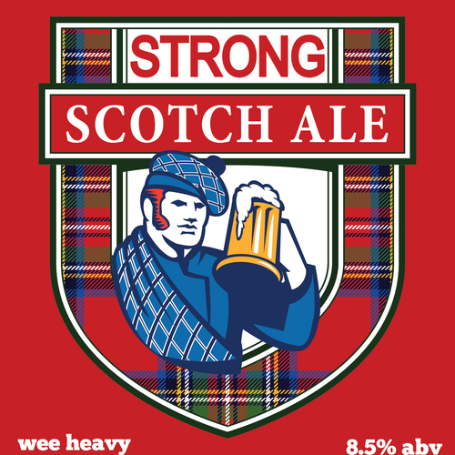 Strong Scotch Ale (wee heavy) Extract Recipe Kit