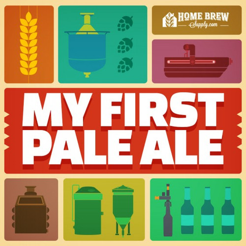 Pale Ale Homebrew Recipe kit.