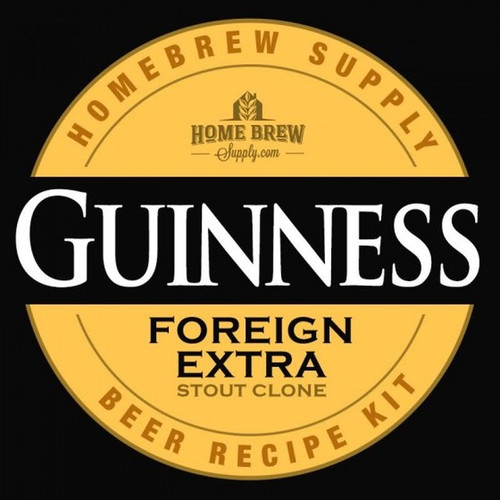Guinness Foreign Extra Stout Clone - Extract Recipe Kit