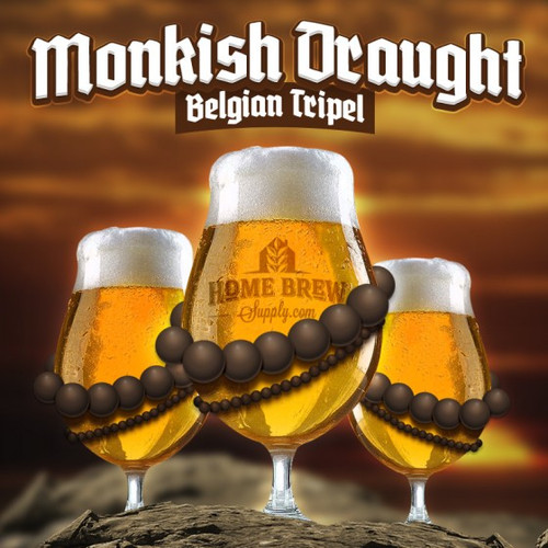 Monkish Draught Belgian Tripel - Extract Recipe Kit