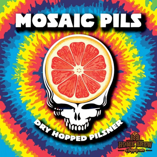 Mosaic  Pilsner - Extract Recipe Kit