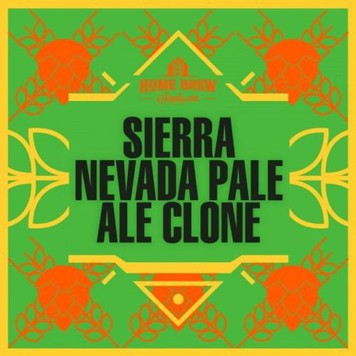 Sierra Nevada Pale Ale Clone - Extract Recipe Kit