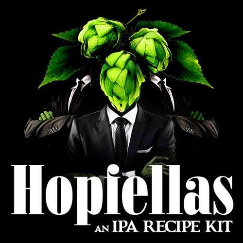 Hopfellas IPA - (Single Hop) Partial Extract Recipe Kit